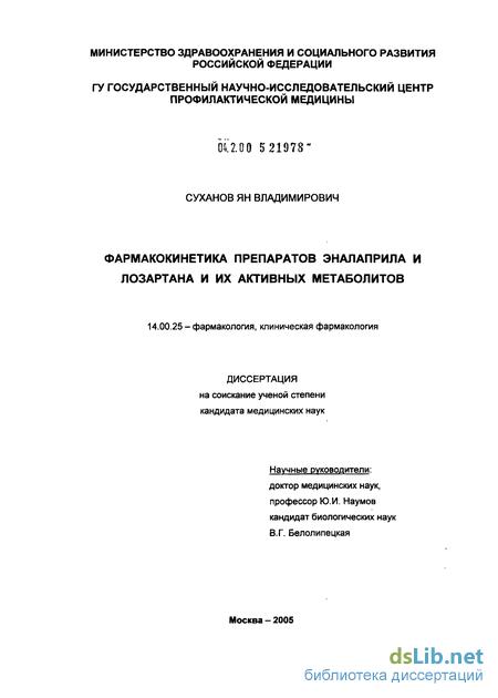 лозартан оригинальный препарат и дженерики