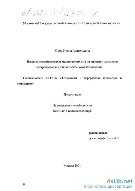 Кирш ирина анатольевна диссертация 8579