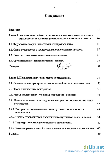 анкета стиль руководства - фото 2